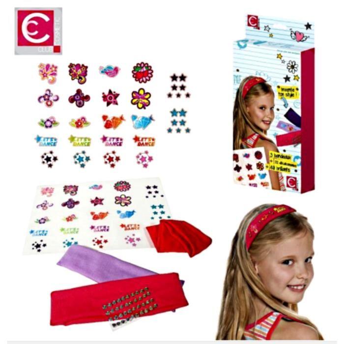 Un kit de 3 bandeaux à décorer pour un style fashion et unique