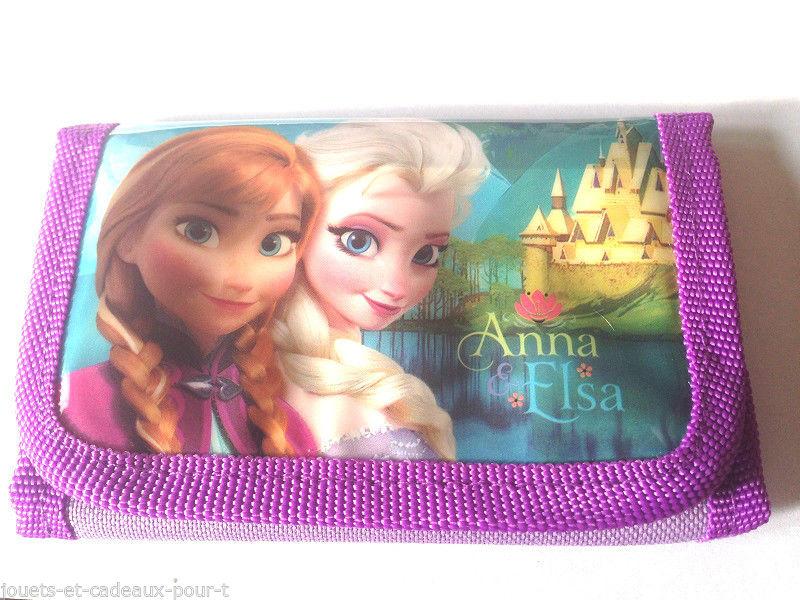Un beau portefeuille La reine des neiges pour toutes les filles
