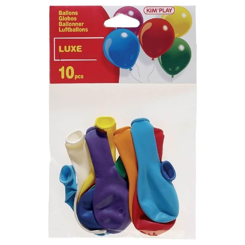 10 ballons luxe a gonfler