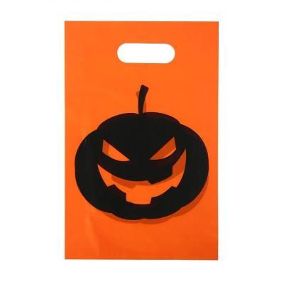 Lot de 10 sacs Halloween citrouille