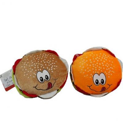 Peluche toute douce burger