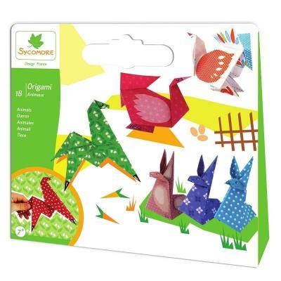 18 origami animaux