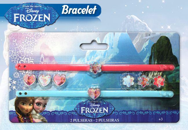 2 bracelets et 8 breloques la reine des neiges idee cadeau la reine des neiges enfant