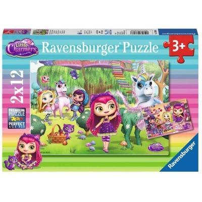 Puzzles Little Charmers 2x12 pièces