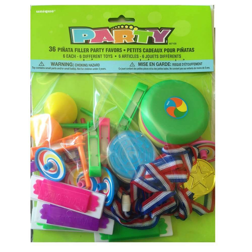 36 jouets pour pinata et fete enfant