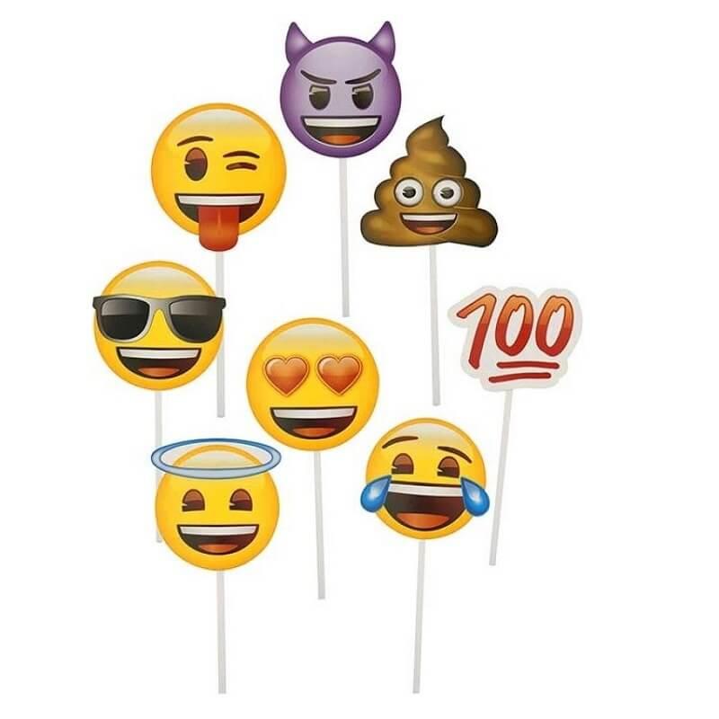 Accessoires emoji pour photos