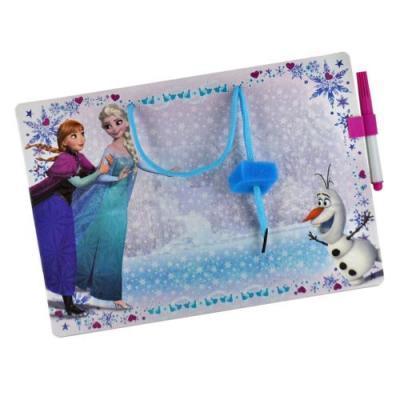 Ardoise effacable memo la reine des neiges