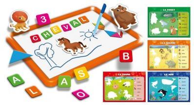 Ardoise magnetique geante enfant idee cadeau creativite enfant