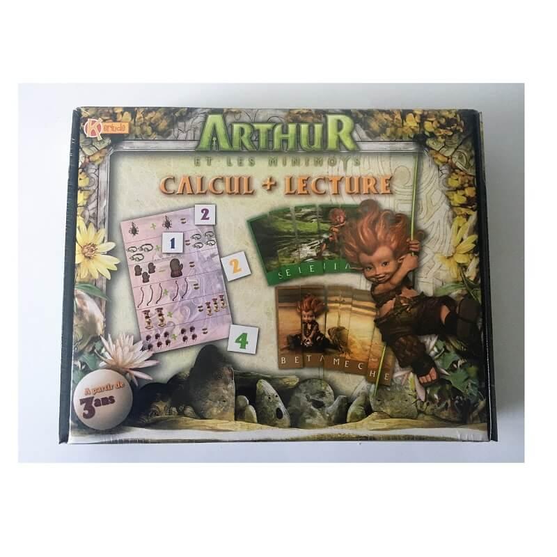 Arthur et les minimoys calcul lecture jeu educatif enfant