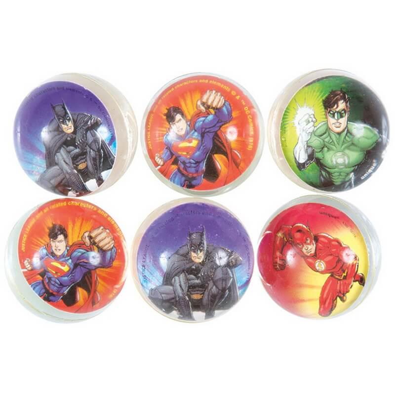 Balles rebondissantes justice league super heros