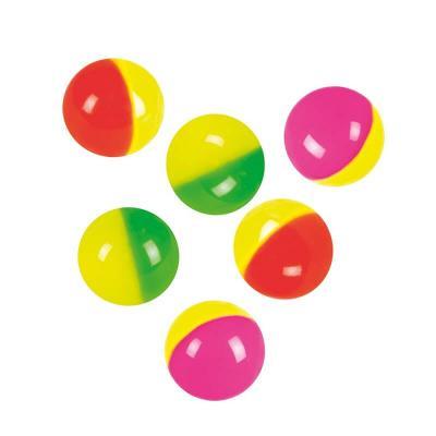 Balles rebondissantes Lot de 6