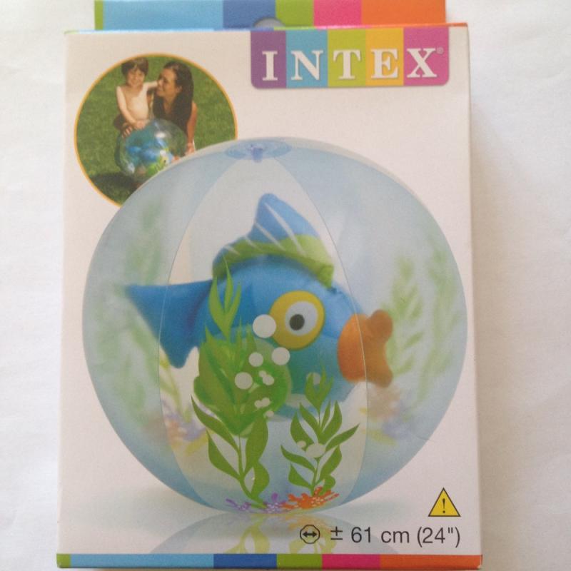 Ballon aquarium bleu 2