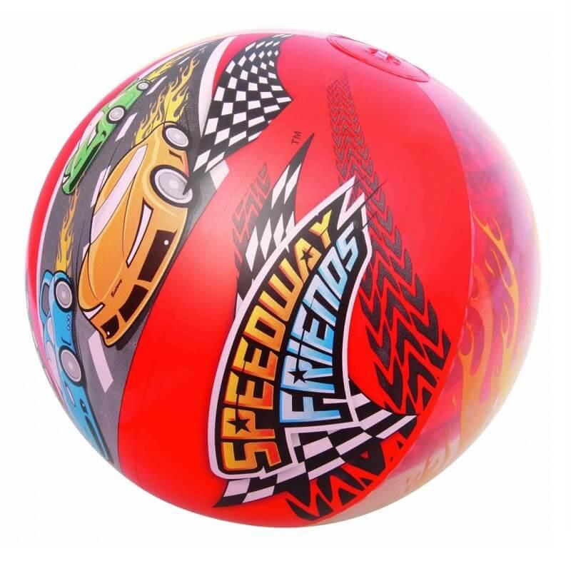 Ballon gonflable sport automobile speedway friends