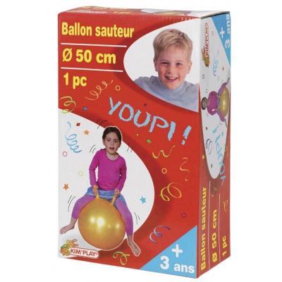 Ballon sauteur de 50 cm. de diamètre
