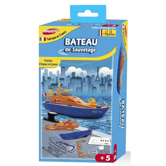Maquette enfant bateau Joustra - Jouet fabriqué en France