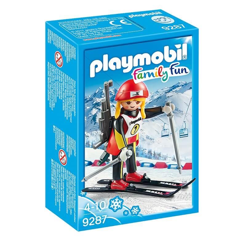 Biathlete playmobil