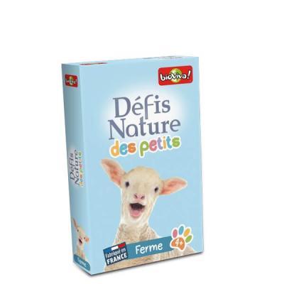 Défis Nature des petits Bioviva version animaux de la ferme