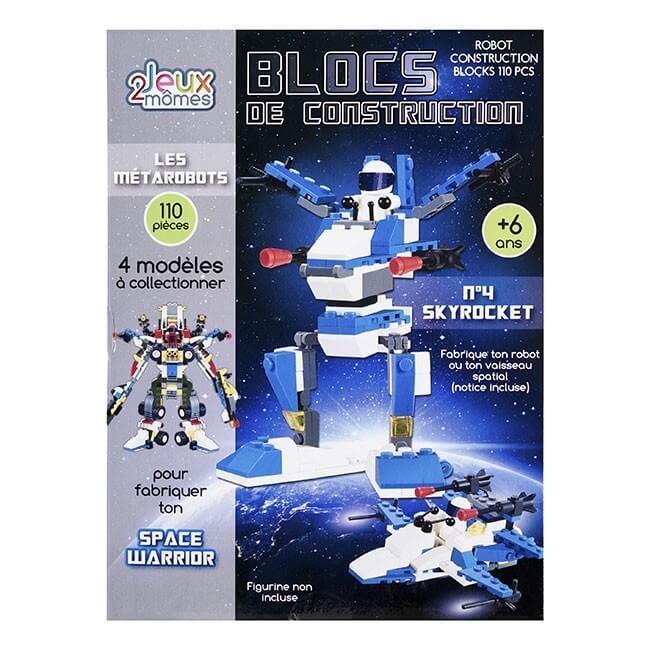 Blocs de construction enfant Les metarobots version skyrocket jeux 2 momes