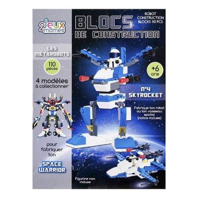 Blocs de construction enfant - Les métarobots - Version Skyrocket