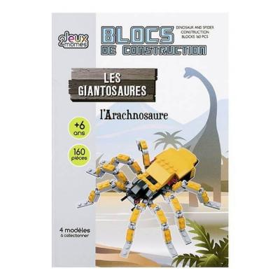 Blocs de Construction dinosaure version Arachnosaure