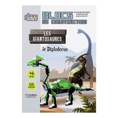 Blocs de construction les giantosaures le diplodocus