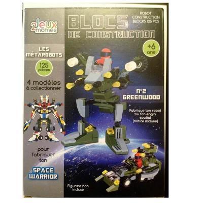 Blocs de construction enfant - Les métarobots - Version Greenwood