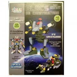 Blocs de construction robot les metarobots version greenwood jeux 2 momes