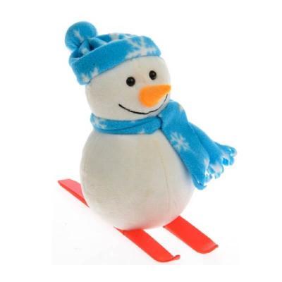 Bonhomme de neige skieur