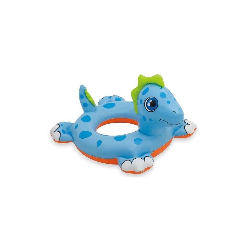Bouee enfant dragon bleu