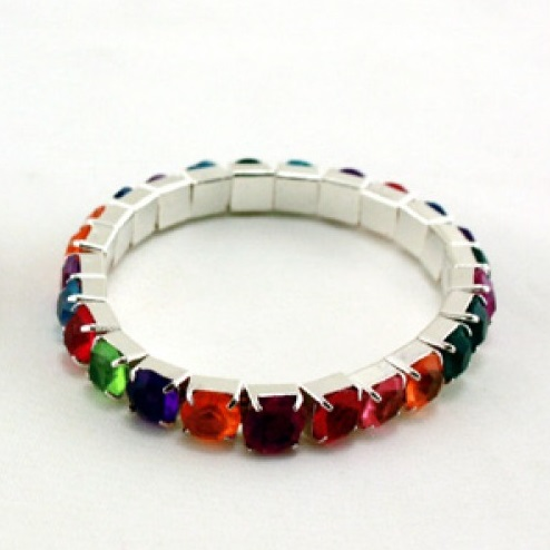 Bracelet enfant sans nickel strass 4