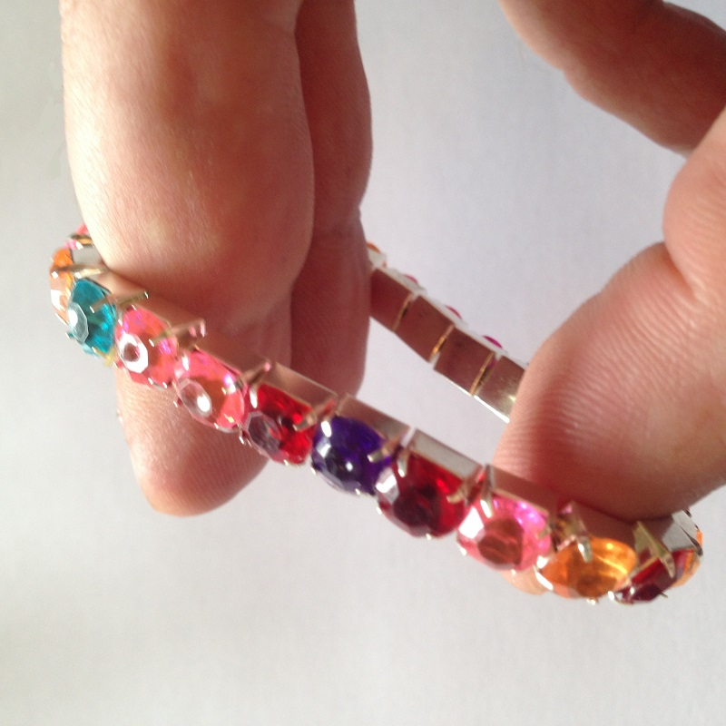 Bracelet enfant sans nickel strass