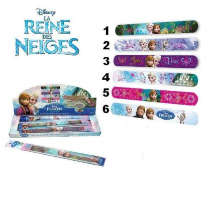 Bracelet slap La reine des neiges
