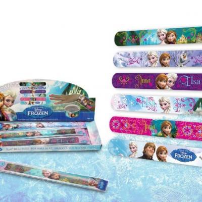 Bracelet slap la reine des neiges bracelet tendance enfant