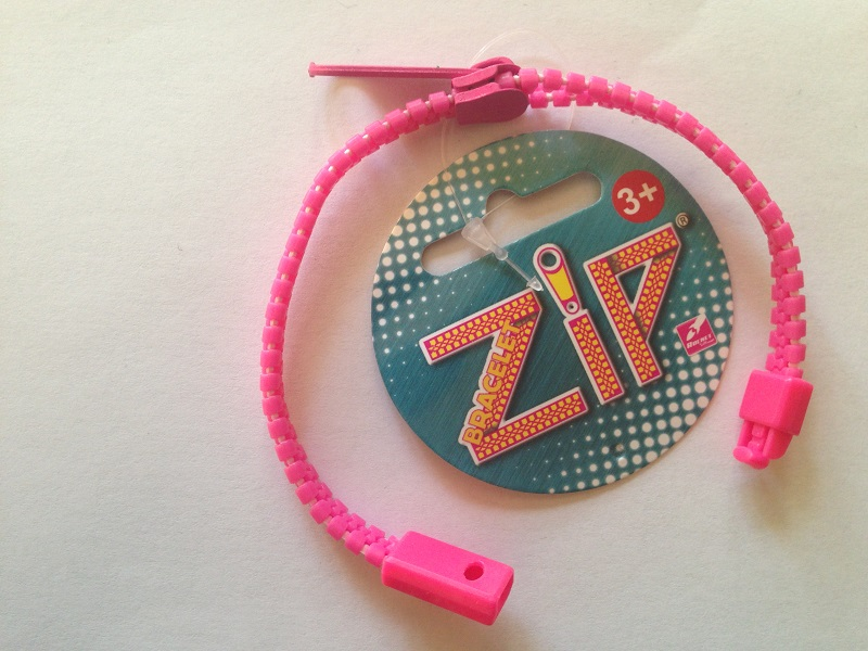 Bracelet zip rose 3