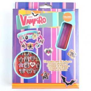 Bracelets chica vampiro avec 18 breloques