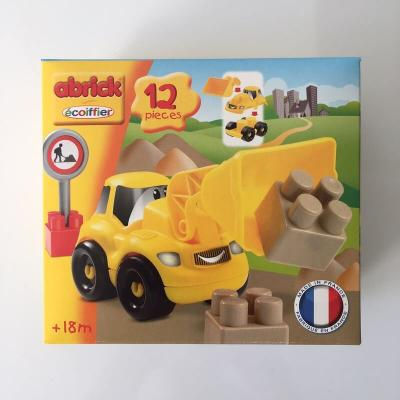 Bulldozer a monter jouet fabrique en france