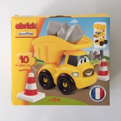 Camion benne Abrick Ecoiffier fabriqué en France