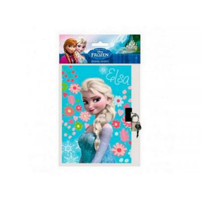 Carnet secret  La reine des neiges et son cadenas