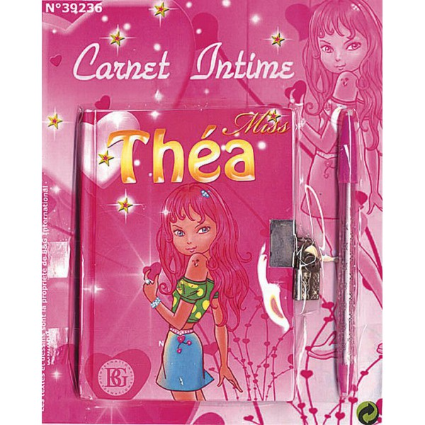 Carnet secret miss thea