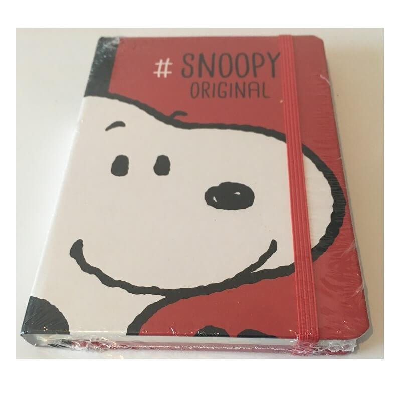 Carnet snoopy original de 96 pages belle idee cadeau