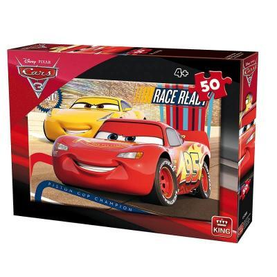 Puzzle Cars 3 Disney de 50 pièces