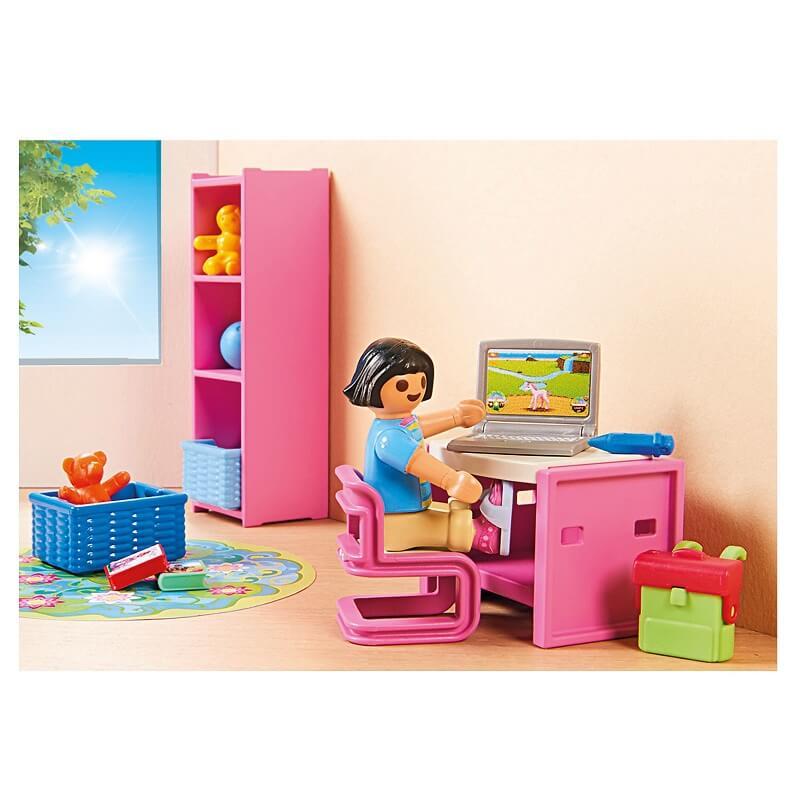 Chambre d enfant et bureau playmobil