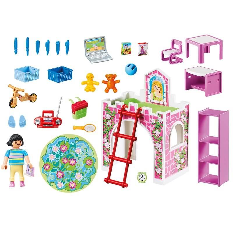 Chambre d enfant playmobil details