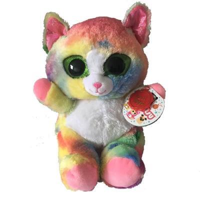Peluche chat aux gros yeux MAXI Animotsu Fashion Keel Toys