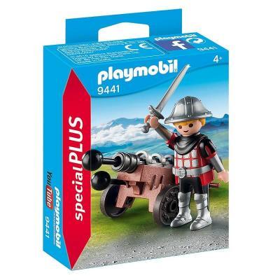 Chevalier et canon Playmobil