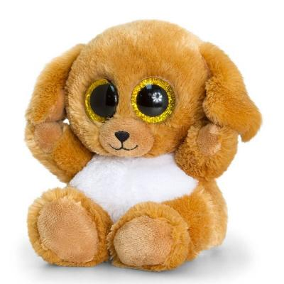 Peluche chien aux gros yeux Keel Toys