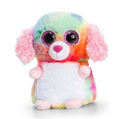 Peluche chien Chihuahua multi-couleurs aux gros yeux Mini Motsu Keel Toys