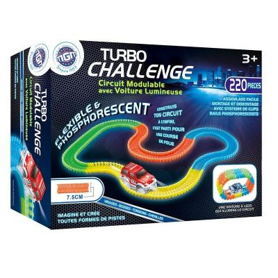 Circuit voiture turbo challenge phosphorescent
