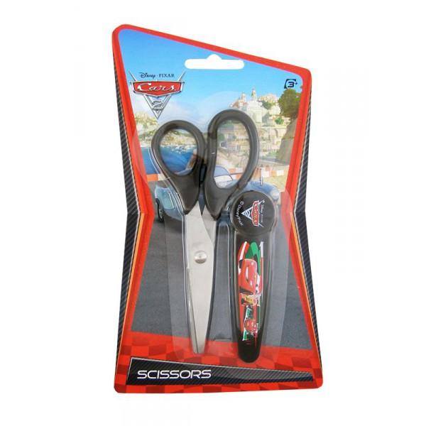 Ciseaux  Cars Disney avec sa protection
