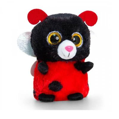 Peluche coccinelle aux gros yeux Mini Motsu Keel Toys